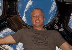 astronaut firefly NASA selfie