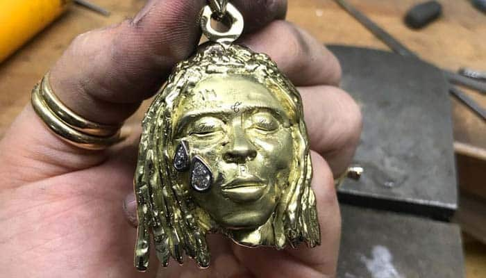 A Budding Artist Paid Her College Fees By Creating a Necklace For Lil Wayne