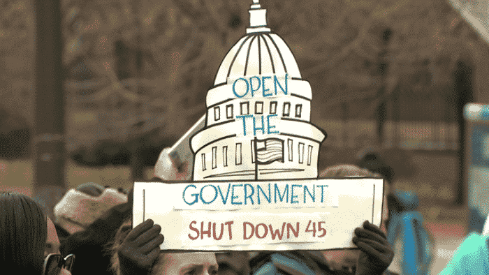 Government Shutdown Protest Signs