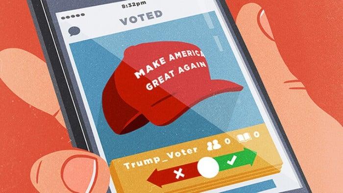 anti-Trump dating websites